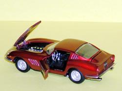Repro box Politoys-m art.504 ferrari 250 GT berlinetta